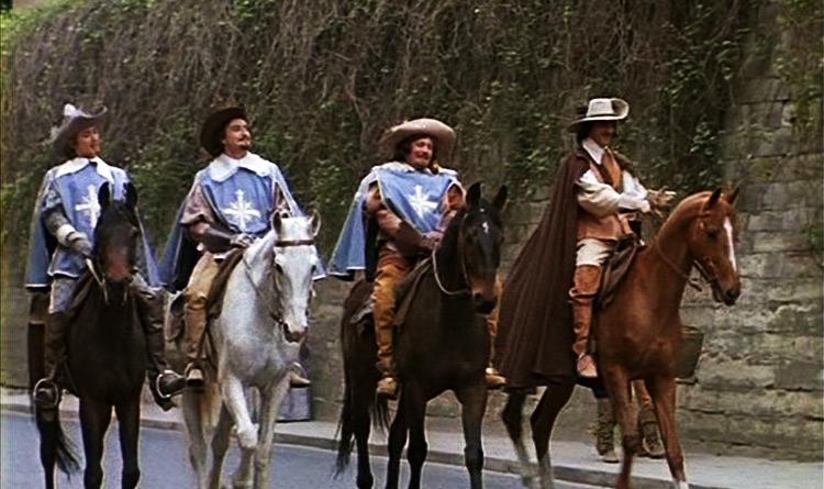 Фильм «Д'Артаньян и три мушкетёра». Приключения отважной четверки ...