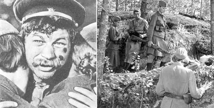 История съемок фильма «А зори здесь тихие» | СССР