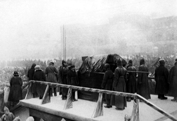 Похороны В.И.Ленина