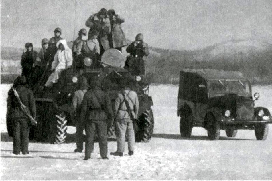Война за секретный танк на острове Даманский